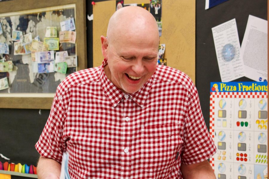 As Educator of the Year, Mr. Larry Swanson Leaves a Lasting Impact, While Loving What He Does