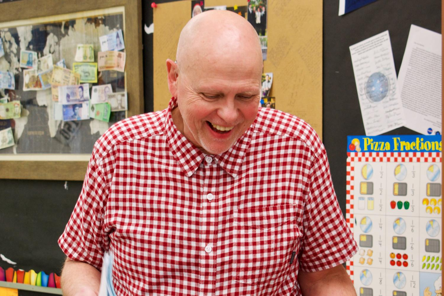 Mr.+Swanson%2C+the+co-department+chair+of+the+math+department%2C+was+awarded+Lasallian+Educator+of+the+Year.