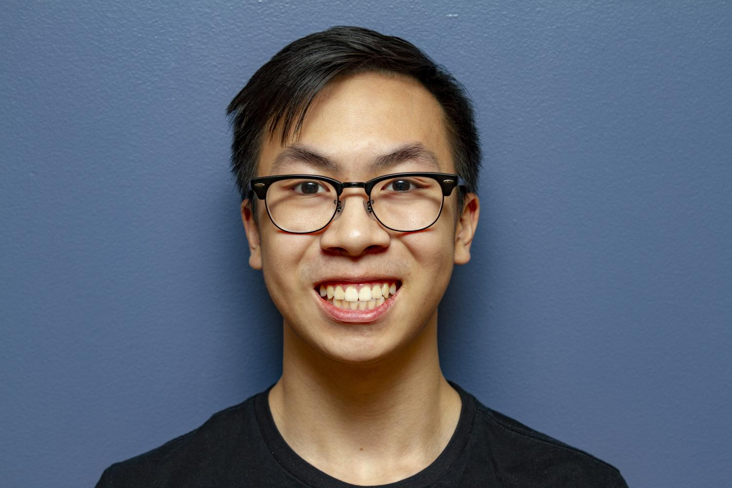 Kyle Li relies on naps after school to keep him motivated during late nights.
