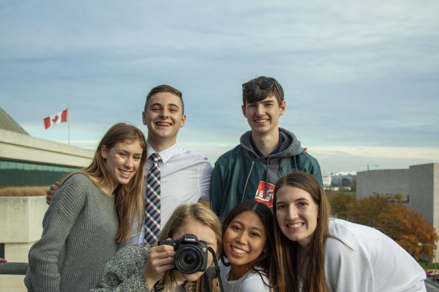 On Thursday, Nov. 21 and Friday, Nov. 22, The Falconer staff and adviser Mr. Miles Kane walked more than 35,000 steps while touring the different museums, memorials, and monuments.
