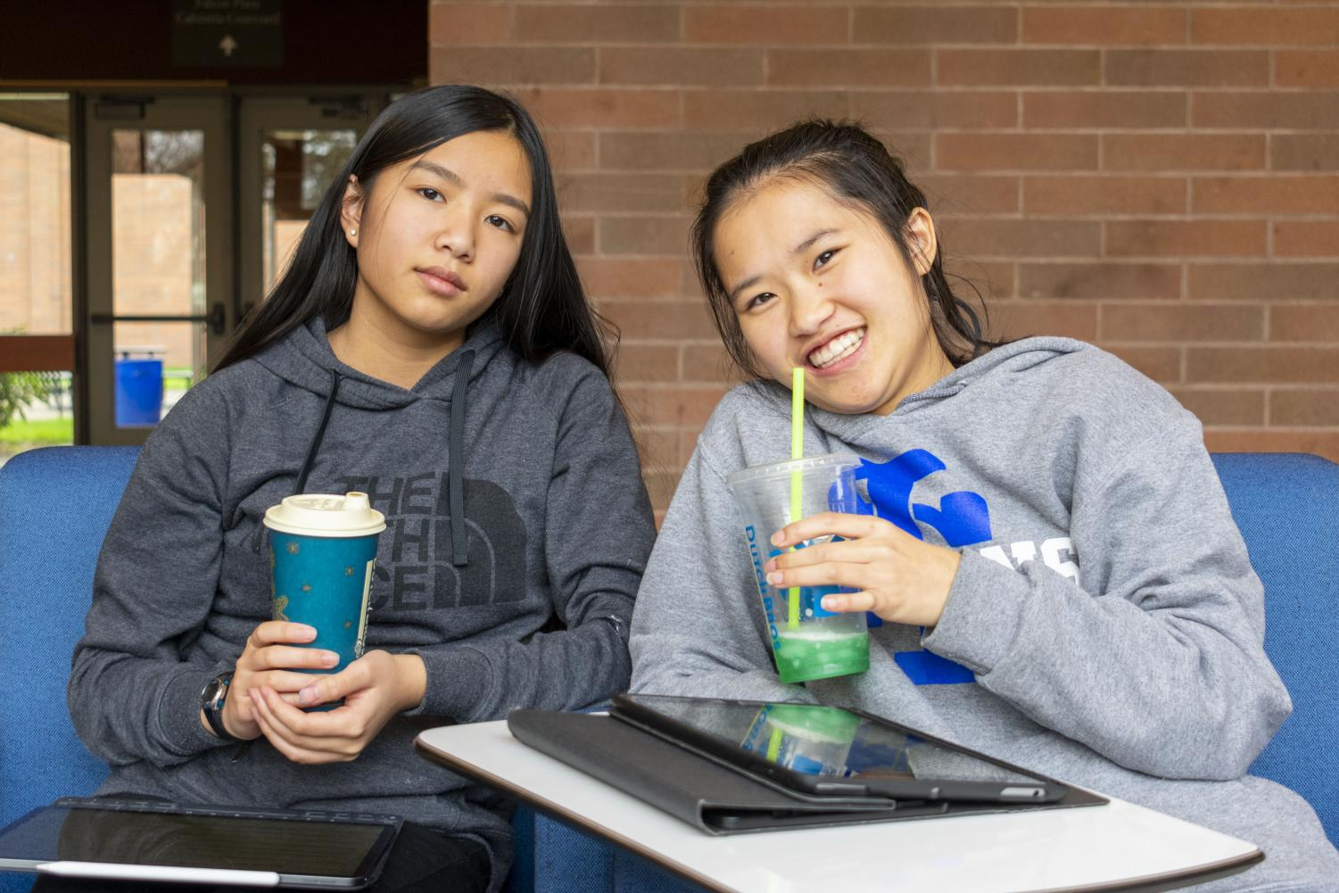 Caffeine gives students the burst of energy they need in the morning to stay focused at school.