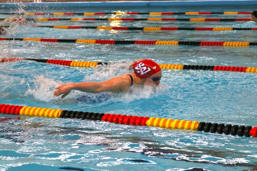 The La Salle swim team beat both Milwaukie and Scappoose at the NWOC dual swim meet.