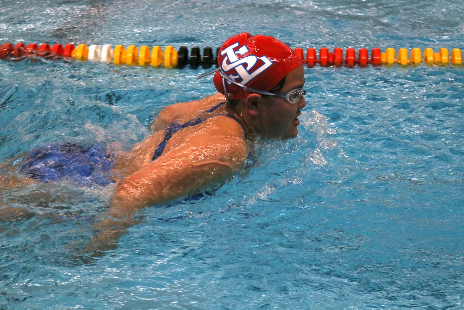 La+Salle+Swim+Team+Takes+On+Milwaukie+and+Scappoose+in+Their+Second+Meet+of+the+Season