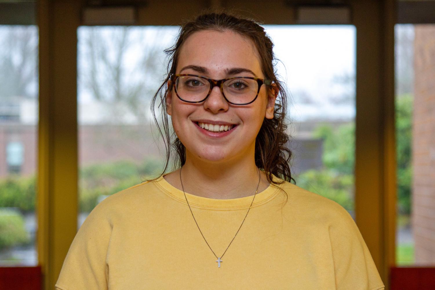 Senior Mackenzie Widmer is enrolled in four AP classes and one Honors class, all while maintaining a 4.119 GPA.