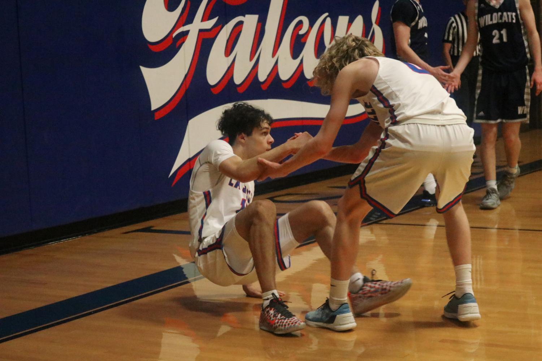 Varsity+Boys+Basketball+Takes+On+Their+Biggest+Rival