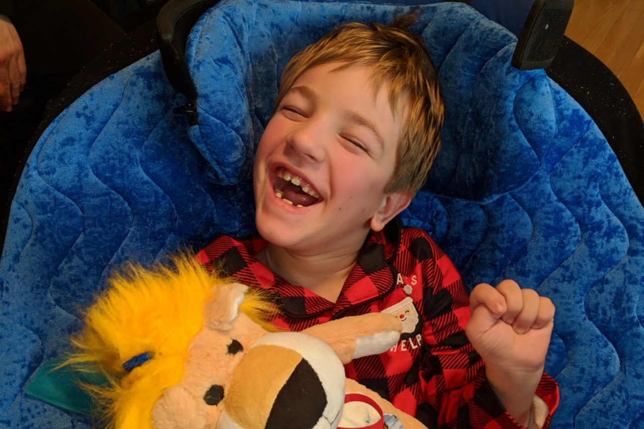 Taran has had over 30 surgeries over the course of his life, his most recent in October.