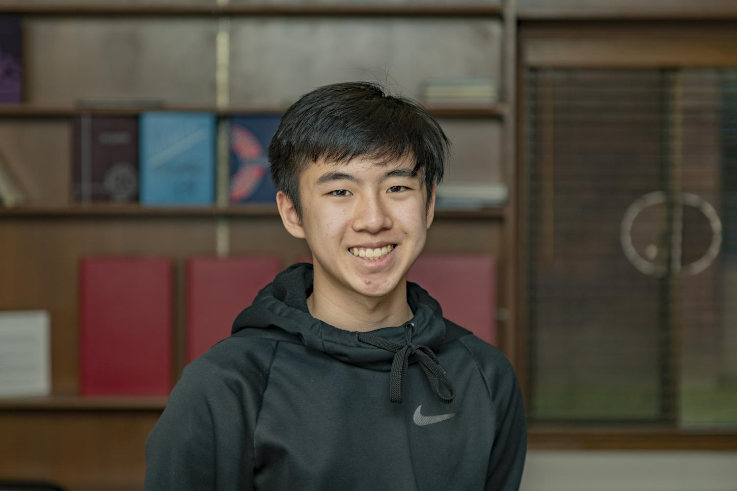 Tyler Pham feels that his teachers were a great support system during his transition into high school.