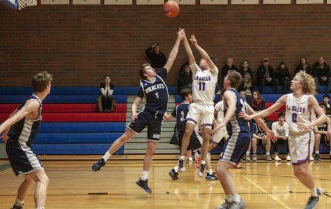 Varsity Boys Basketball Takes On Their Biggest Rival
