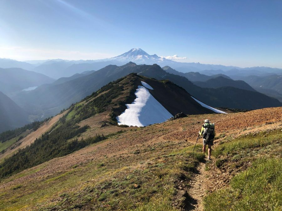 The Pacific Crest Trail spans 2,653 miles from Canada to Mexico.