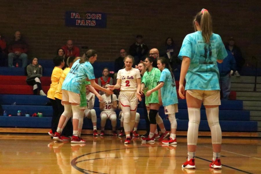 Despite the challenges that she has faced, Niebergall is appreciative of the trust that she has built with her teammates.