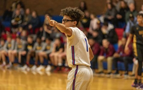 The varsity boys basketball team won their game on Feb. 18 with a final score of 68-66.