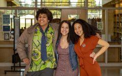 Nicky Hounton, Olivia Fobi, and Amira Tripp-Folsom are all members of the BSU.
