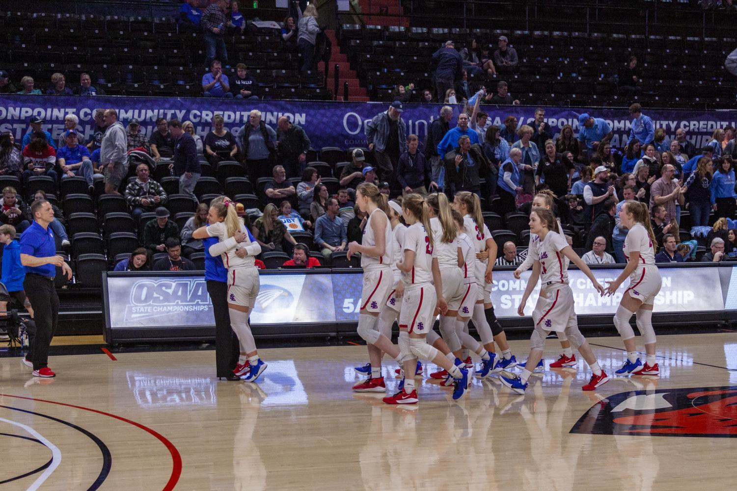 The+%232+varsity+girls+basketball+team+won+their+game+against+%237+Corvallis+with+a+final+score+of+65-46.