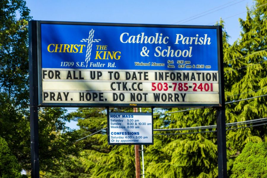 As a result of the coronavirus outbreak, members of the Catholic community havent been able to physically attend masses.