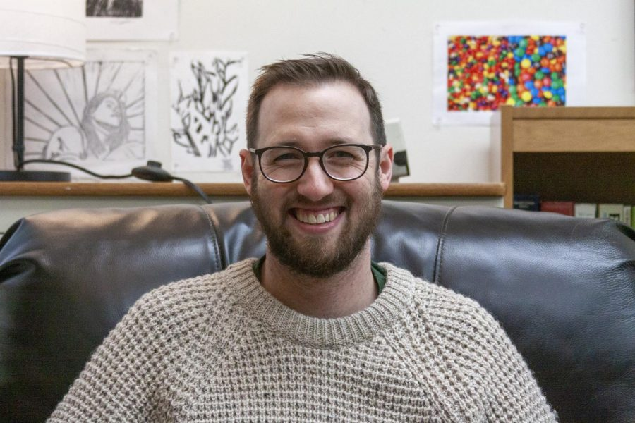 English Teacher Mr. Larson Talks Literature, Technology, and Today's Youth
