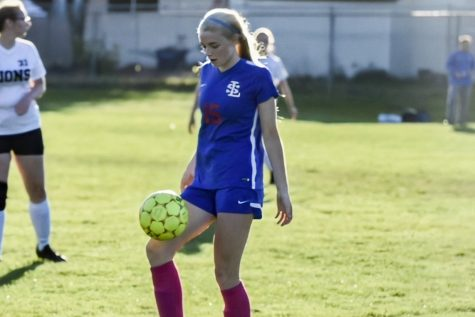 Junior Lucy Lawton plays soccer and runs track at La Salle.