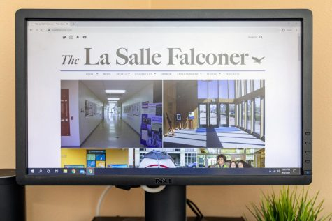 The Falconer has been publishing remotely since school closed on March 12.