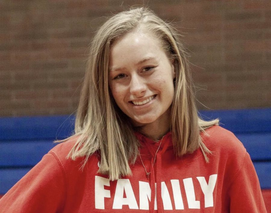 Drango said that it was devastating that her high school basketball career was cut short due to COVID-19.