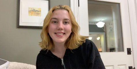 In deciding where to go to high school, junior Maggie Dougherty was drawn to La Salle because of its art program.