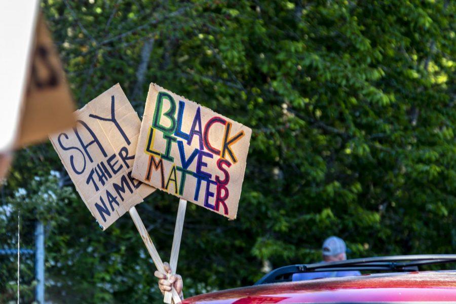 All lives don't matter [until] black lives matter, Gashongore said.