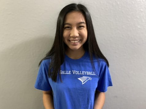 Junior Amanda Rivera's favorite memory from the volleyball season was playing at Liberty High School with her team during the state tournament.