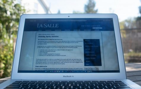 One of the changes that emerged this summer was the edition of a Diversity, Equity, and Inclusion page to La Salle's website.