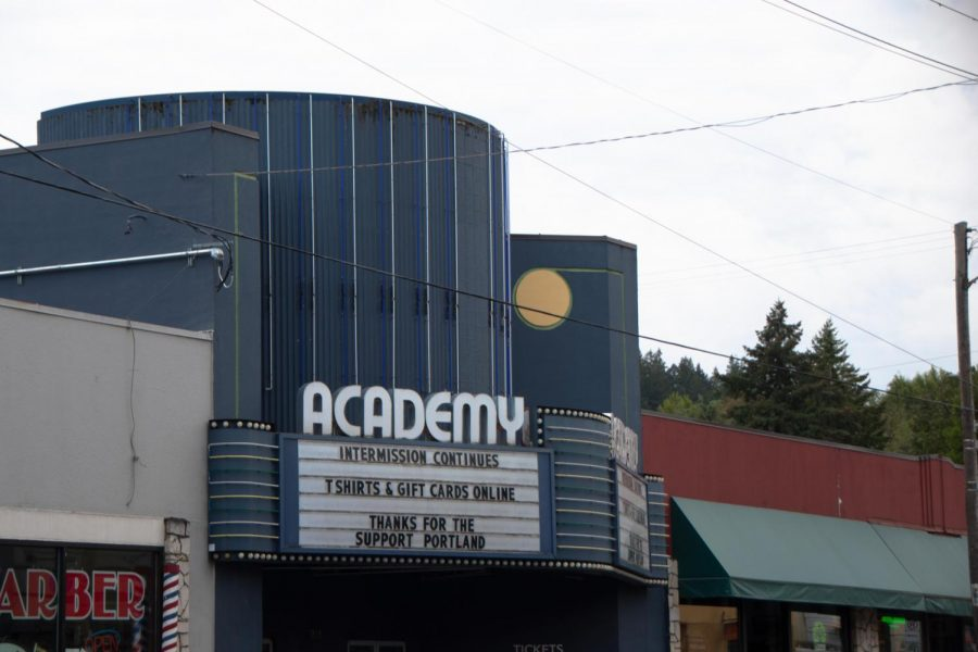 The Academy Theater remains closed due to the limitations of air circulation.