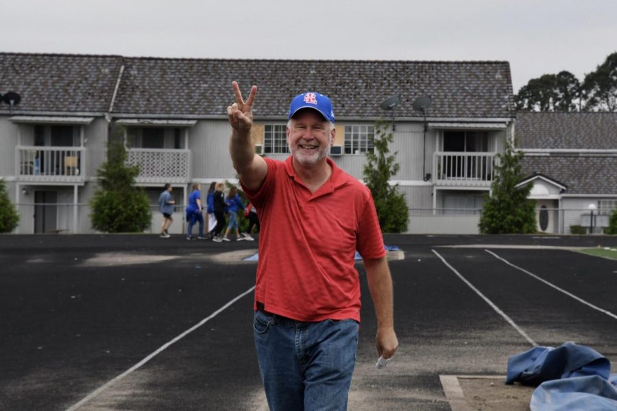 """""""La Salle has given me a place where I feel like I belong, I feel wanted, I feel seen, and that feeds my soul and it helps me to think I'm on purpose in my life,"""" Mr. Tom McLaughlin said."""