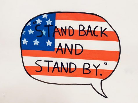 "In the first 2020 presidential debate that took place on Sept. 29, President Trump told Proud Boys to ""stand back and stand by."""