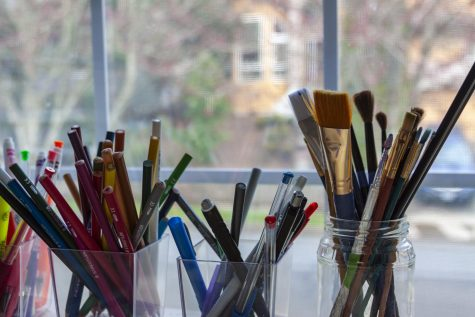Painting, drawing, and sketching are relaxing art forms that can contribute to positive mental health.