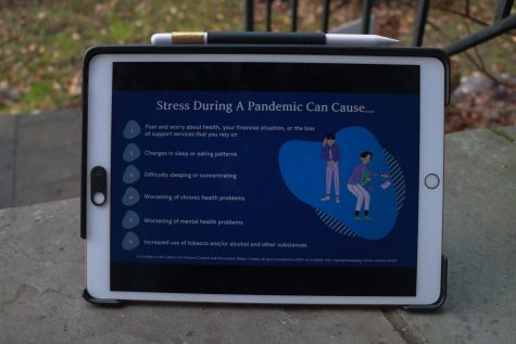 """Coping with stress in a healthy way will make you, the people you care about, and your community stronger,"" the Centers for Disease Control and Prevention said."