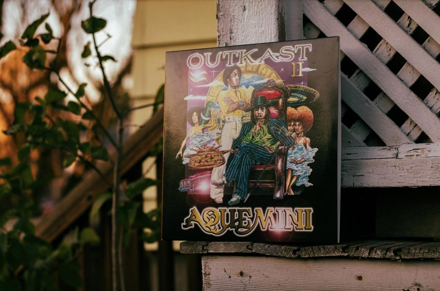 """OutKast's third album, """"Aquemini,"""" revolutionized hip-hop music."""