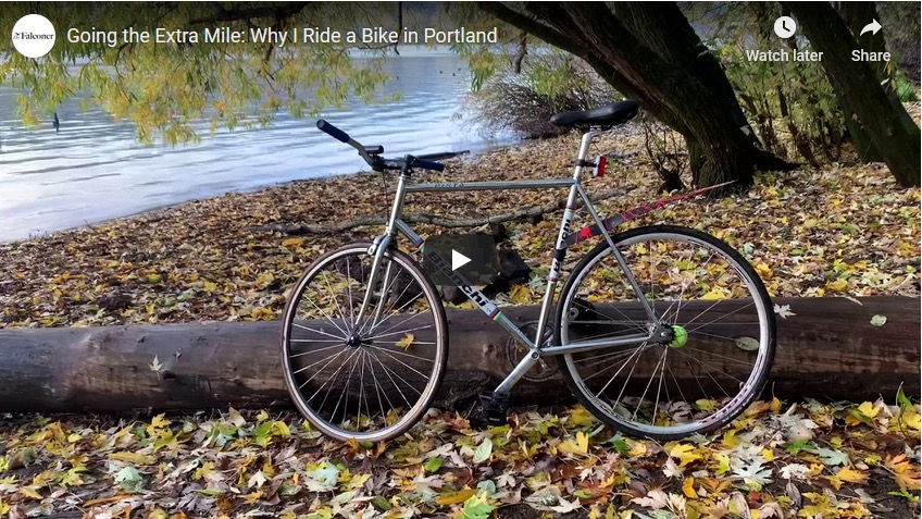 Going the Extra Mile: Why I Ride a Bike in Portland