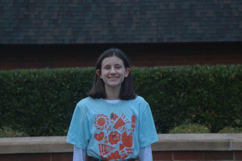 Sophomore Kate Sunderland enjoys the community aspect of La Salle