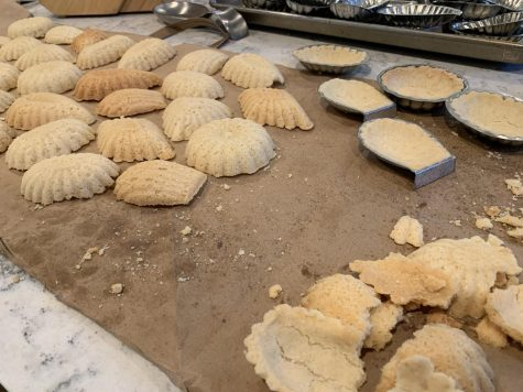 Sandbakkels are a type of Norweigen cookie, and baking them is a tradition in my family.