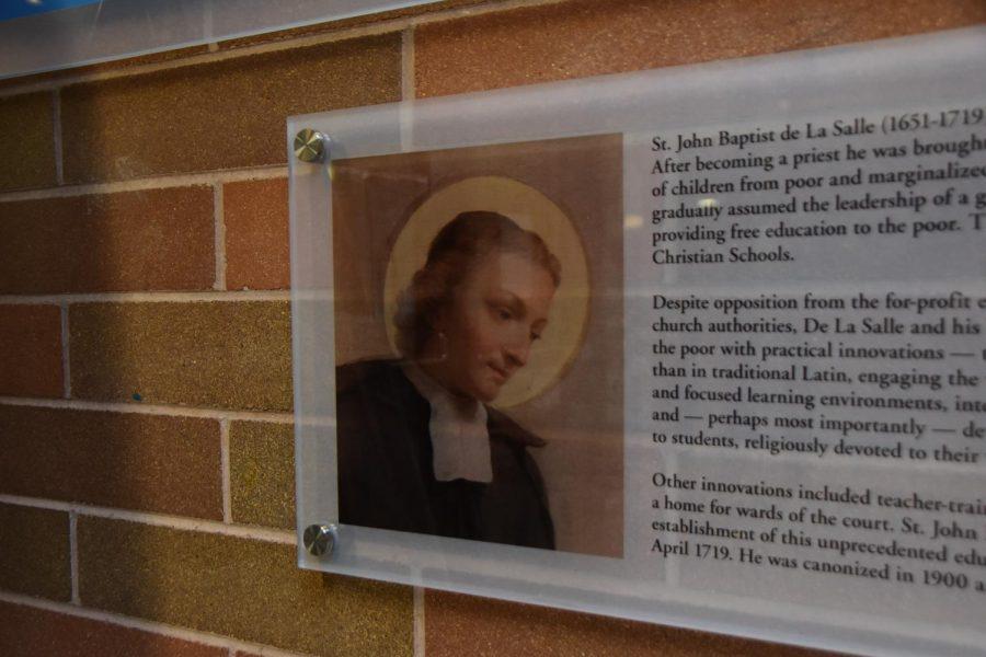 In 1900, John Baptist de La Salle was declared a saint of the Roman Catholic Church.