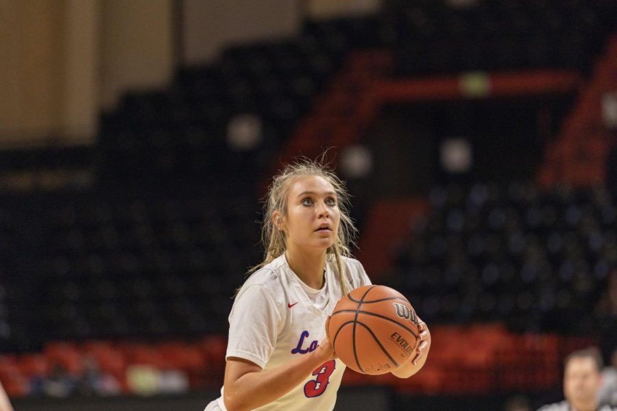 Wedin has played with her La Salle team at Gill Coliseum with her team during the playoffs all three years of her high school career thus far.