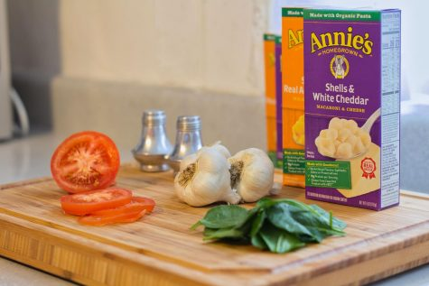 To help mix up regular boxed mac and cheese, try looking around your kitchen for ingredients that can easily be thrown in for some extra flavor.