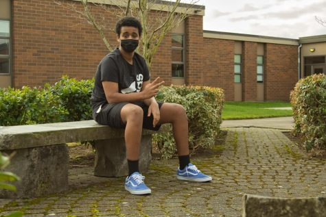 """I want the Portland community to be the best community it can,"" junior Simon Abraha said. ""I'm only one person… but, you know, progress is progress, whether it's big steps or baby steps."""