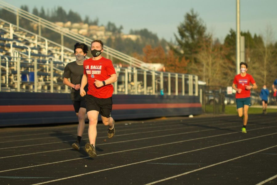 Kiltow placed first in a recent race against Rex Putnam with a 5K time of 17:12.86.