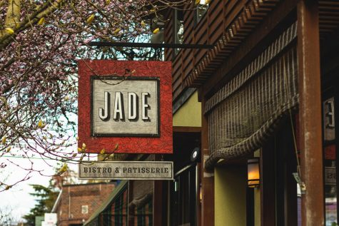"Noemi Skovierova has been working at  Jade Bistro & Patisserie since September. ""We get a lot more takeout orders than I think we would before,"" she said on how her job has been different because of the pandemic."