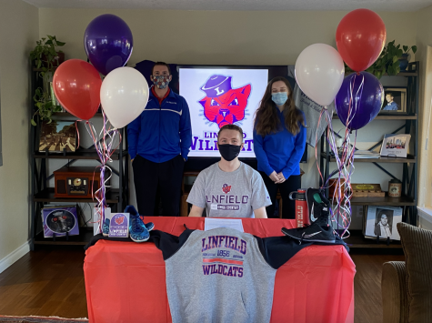 Kiltow will run track for Linfield University, which is located in McMinnville, Oregon.