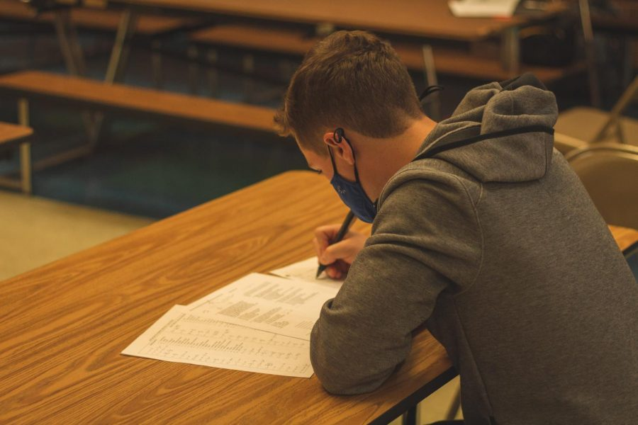 The option of taking AP tests in person has returned this school year, after only digital exams were offered last year.