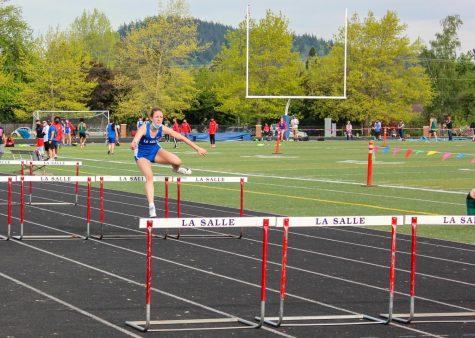 Senior Abby Sheets  hopes to compete in the 100-meter hurdles at Sacramento State.