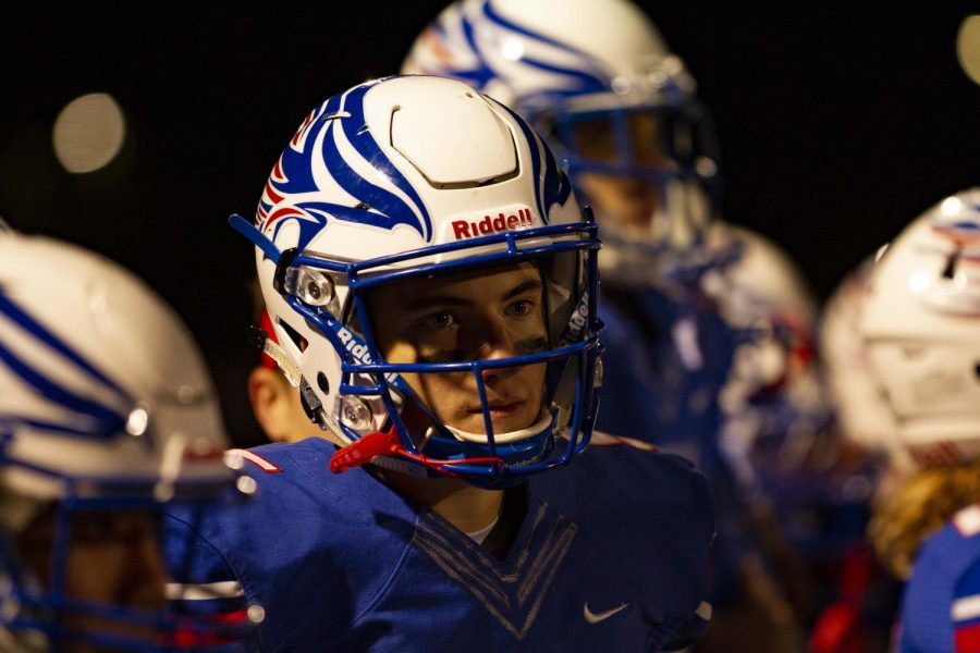 Senior+Ryan+Rosumny+has+been+playing+football+since+the+fourth+grade%2C+and+will+be+continuing+his+football+career+at+Pomona+College.+