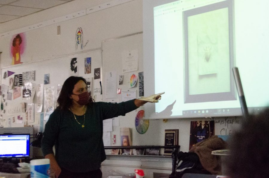 """When teaching, """"I like to experience people becoming powerful through their arts,"""" Ms. Cha said."""