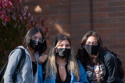 Seniors Natalie Caldillo-Ruelas, Victoria Roman-Arrieta, and Jaqui Cacho Barrera reflected on what Hispanic Heritage Month meant to them.